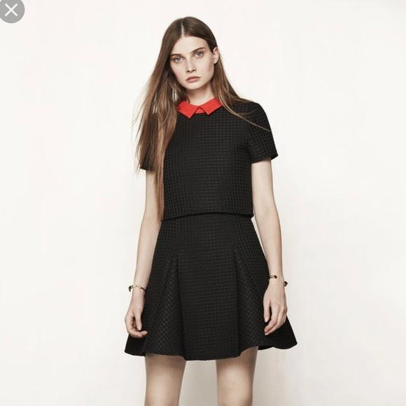 """31b862b6409 Maje Dresses   Skirts - Maje 2016 """"Rudy"""" Peter Pan collar dress 2 ("""